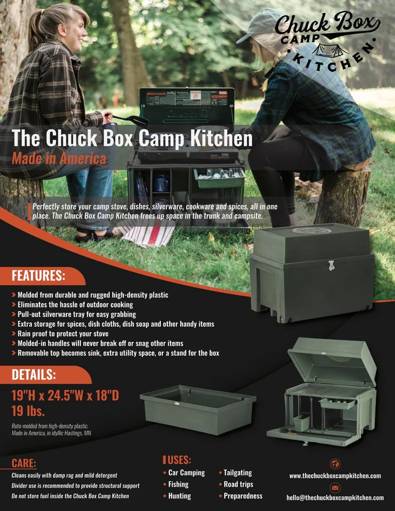 Kitchen Chuck Box : kitchen, chuck, Chuck, Kitchen, Details