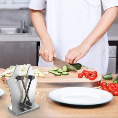 Professional Kitchen Knives Round Tables For Sale Knife Sharpener Give Your A Makeover