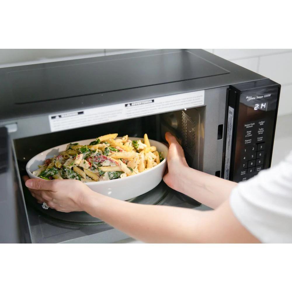 panasonic nn sn66kb countertop microwave genius sensor inverter technology 1200w