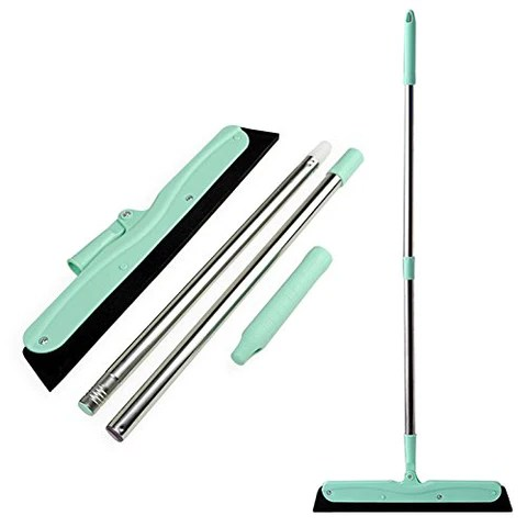 kitchen broom toy kitchens woco multi purpose rubber foam mop for garage hair