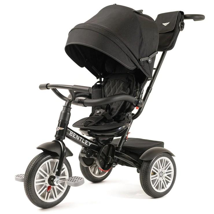Onyx Black Bentley 6 in Stroller Trike