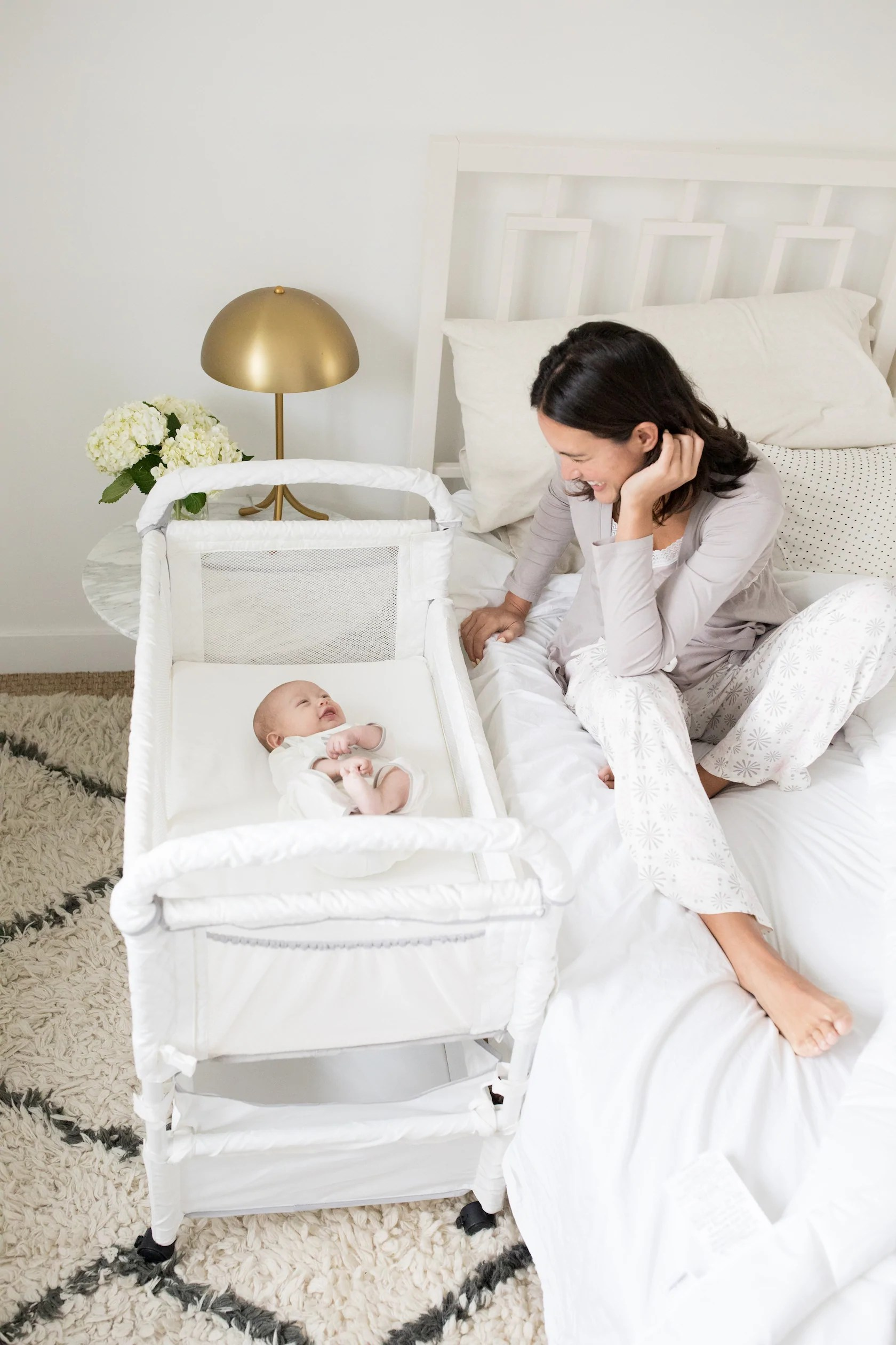 Bassinet Attached To Bed : bassinet, attached, CLEAR-VUE, CO-SLEEPER, Arm's, Reach, Concepts