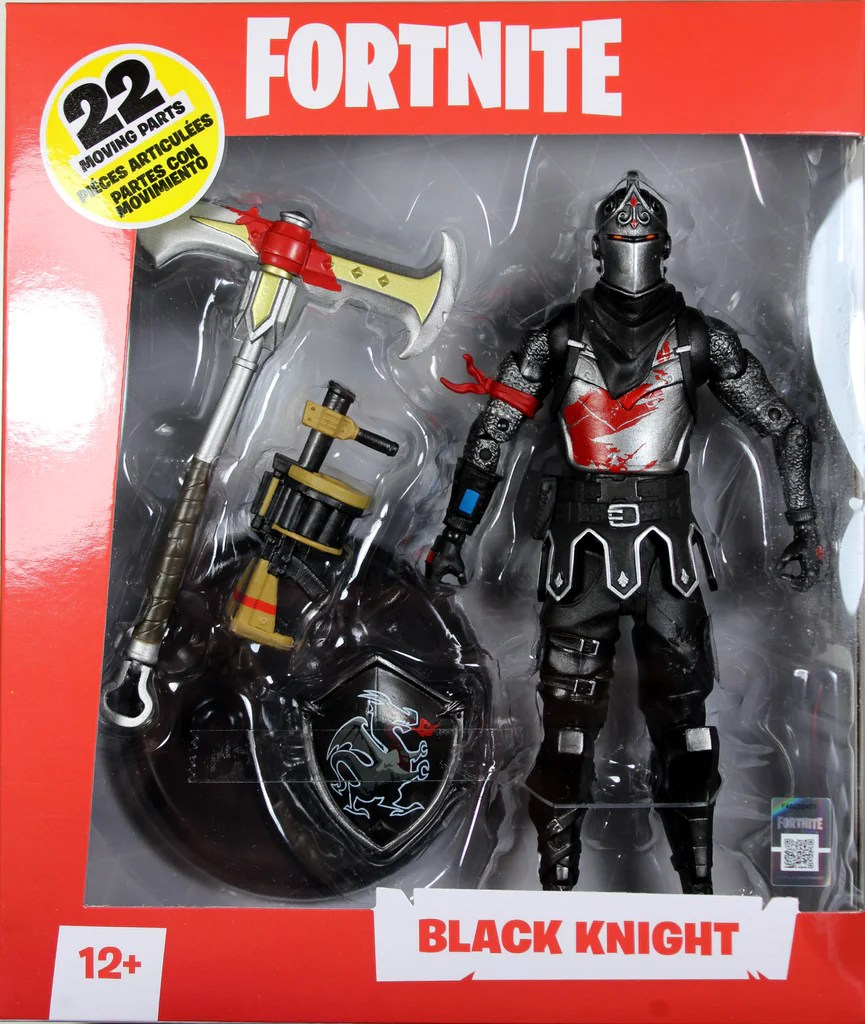Fortnite Black Knight Deluxe 7 Inch Action Figure Mcfarlane Toys Fandom Toy Store