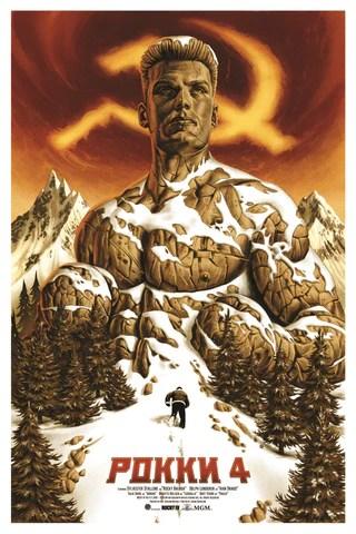 Rocky IV by Jason Edmiston Skuzzles Variant