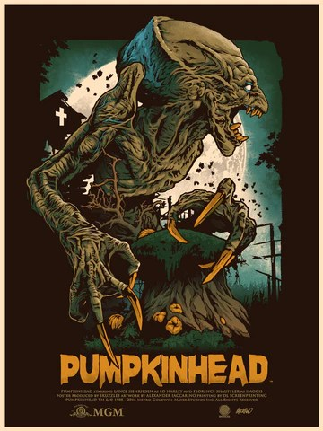 pumpkinhead movie poster regular