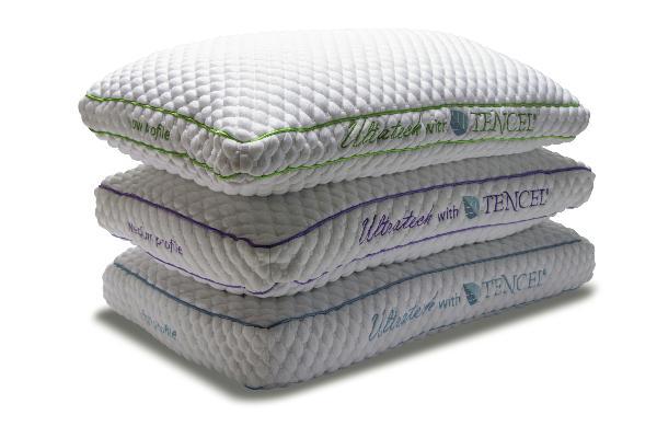 ultra tech medium profile pillow 4 6 standard size