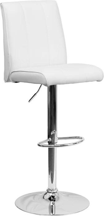 Flash Furniture Ch 122090 Wh Gg Contemporary White Vinyl