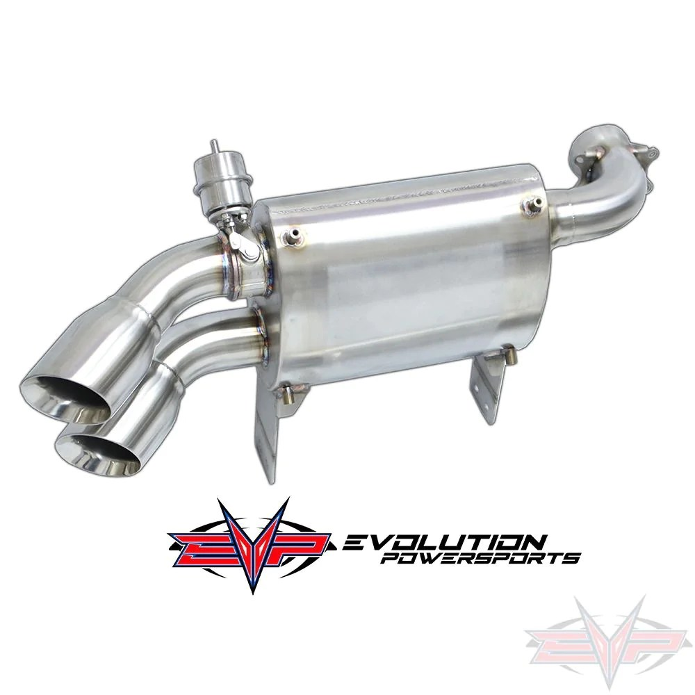 can am x3 evo powersports captains choice electric cut out exhaust control