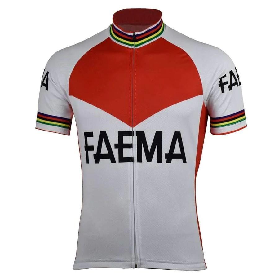 Maglia Ciclismo Vintage Faema 568ab9ef4d9
