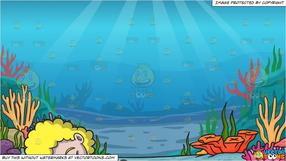 Diaper Girl Wallpaper A Baby Girl Sleeping Soundly And Under The Sea Background