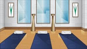 yoga clipart cartoon vectortoons cartoons clipground