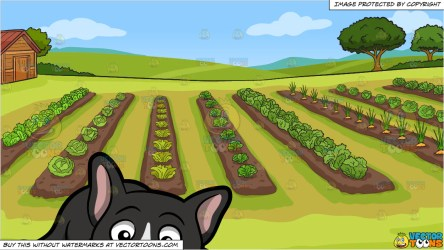 french bulldog vegetable garden tired dog clipart vectortoons crested chinese kinds vegetables blonde clip