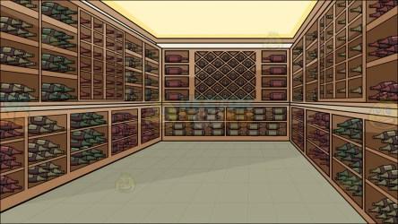 cellar wine background clipart cartoons
