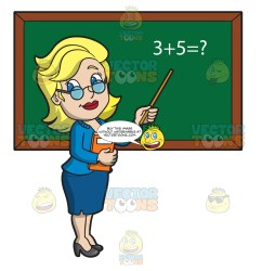 Classroom High School Classroom Teacher Cartoon