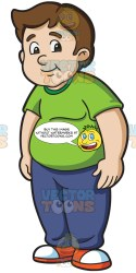 student chubby male cartoons clipart boys