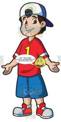 football student shirt male wearing clipart boys cartoons