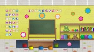 classroom preschool background inside cartoon clipart board vectortoons cartoons