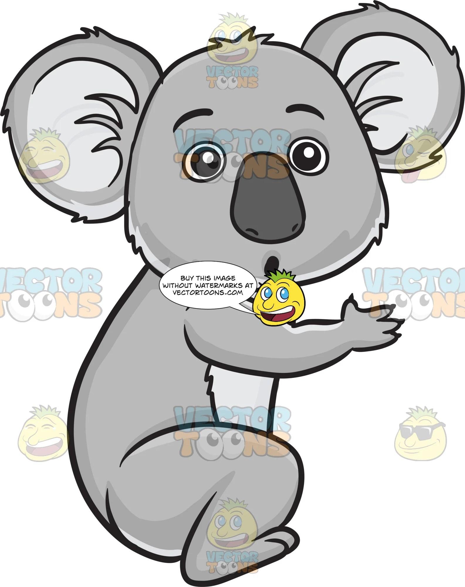 koala bear clipart [ 1585 x 2000 Pixel ]