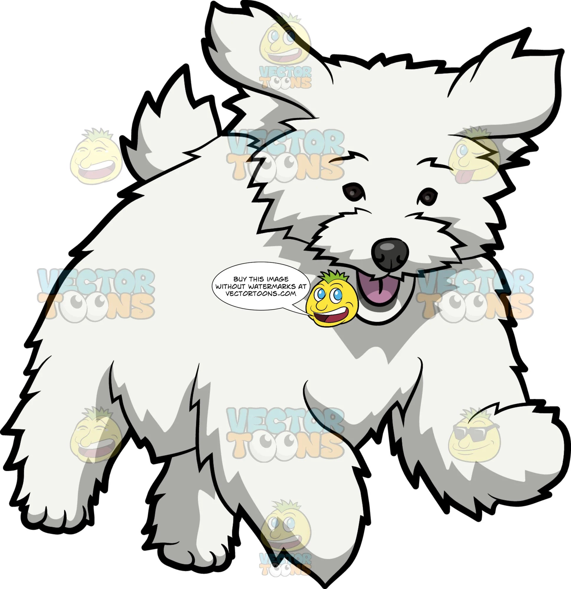 small resolution of maltese clipart