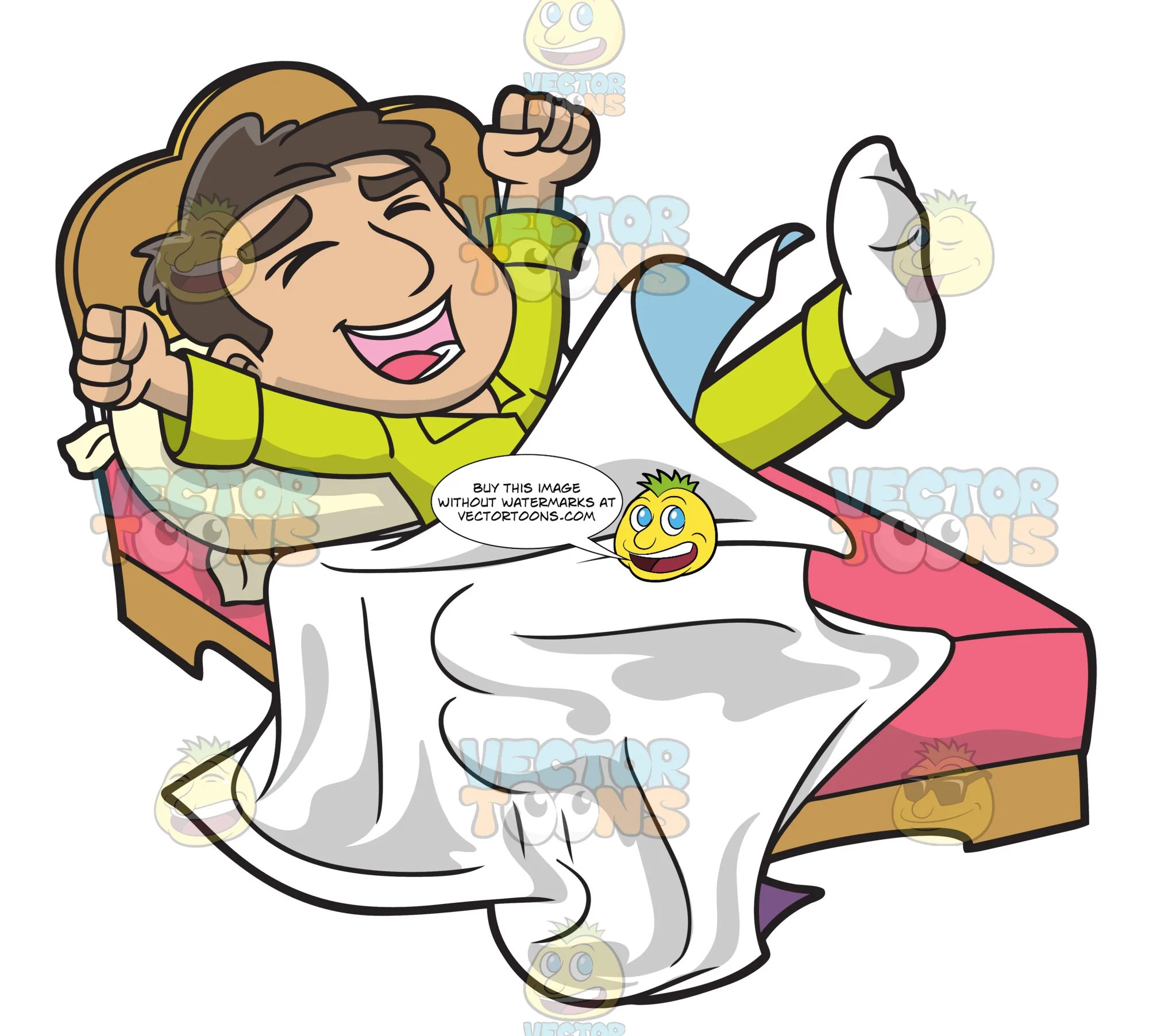 hight resolution of wake up clipart