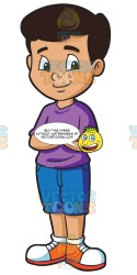 middle student male happy clipart looking cartoons