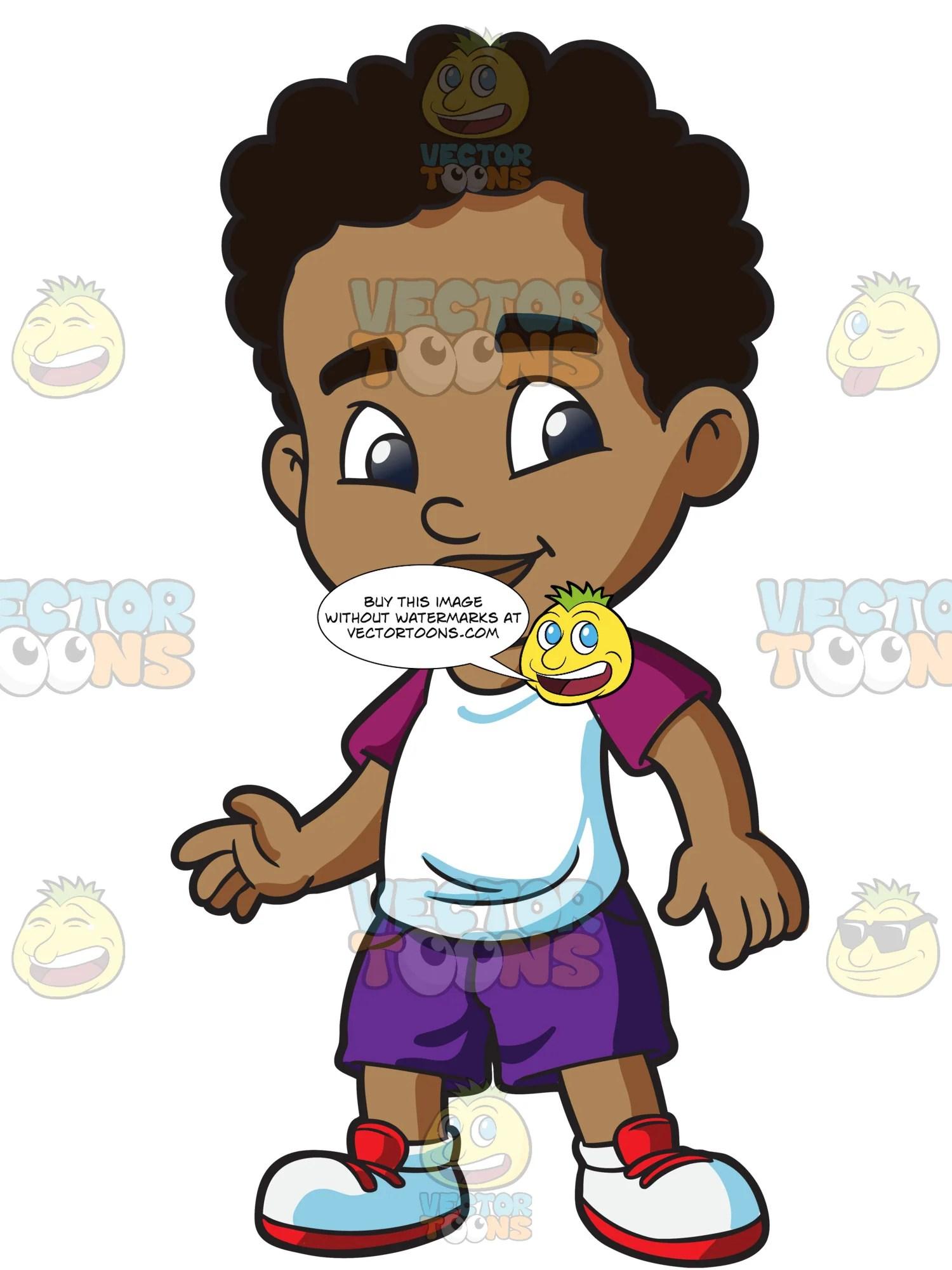 black preschooler boy