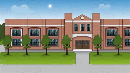 background outside clipart exterior cartoon clip library cliparts vectortoons cartoons