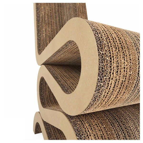 Vitra Wiggle Side Chair by Frank Gehry  Vertigo Home