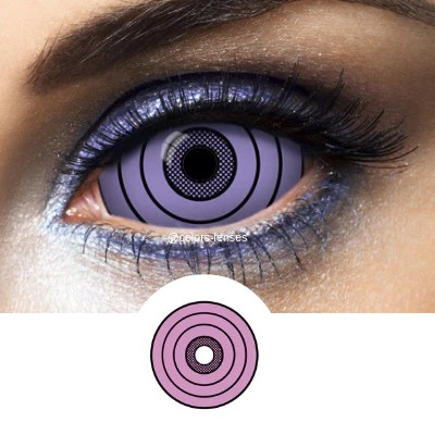 violet contacts sclera rinnegan