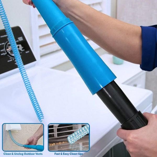 Washer & Dryer Lint Vacuum Hose - Mfg