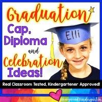 kindergarten graduation cap diploma