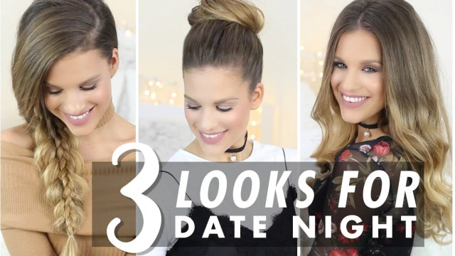 3 easy hairstyles for date nights – luxy hair
