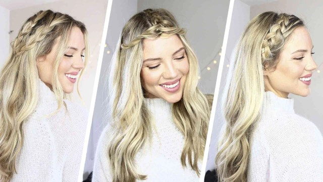 braids hairstyles: 3 easy braided hairstyles – luxy hair
