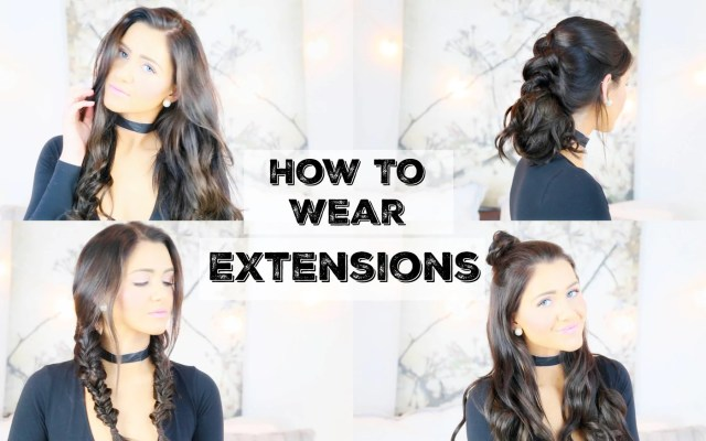 how to wear extensions for 5 different hairstyles – luxy hair