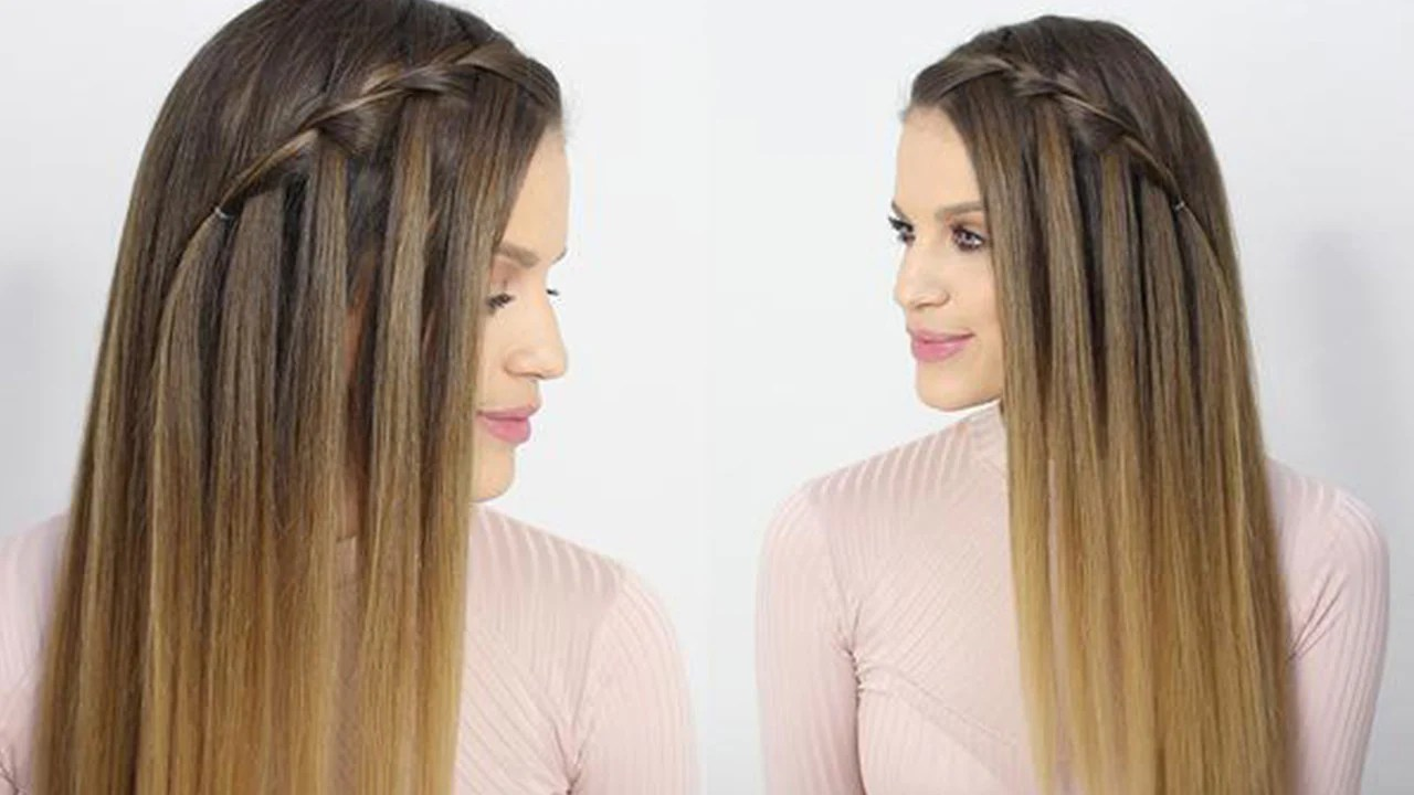 Waterfall Braid How To Do A Waterfall Braid Step By Step Guide