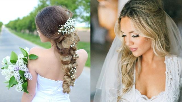 how to throw a glamorous wedding (hair ideas, photos
