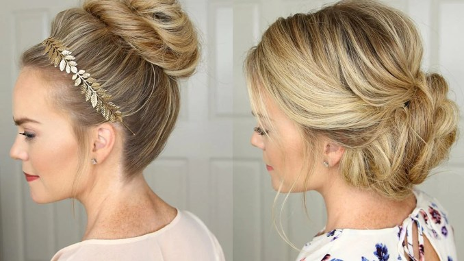 3 stunning updos that you can do yourself – luxy hair