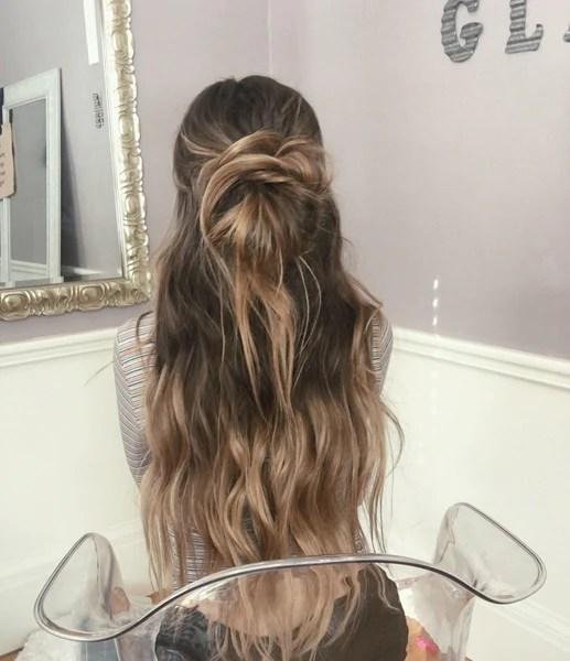 style long hair beach waves
