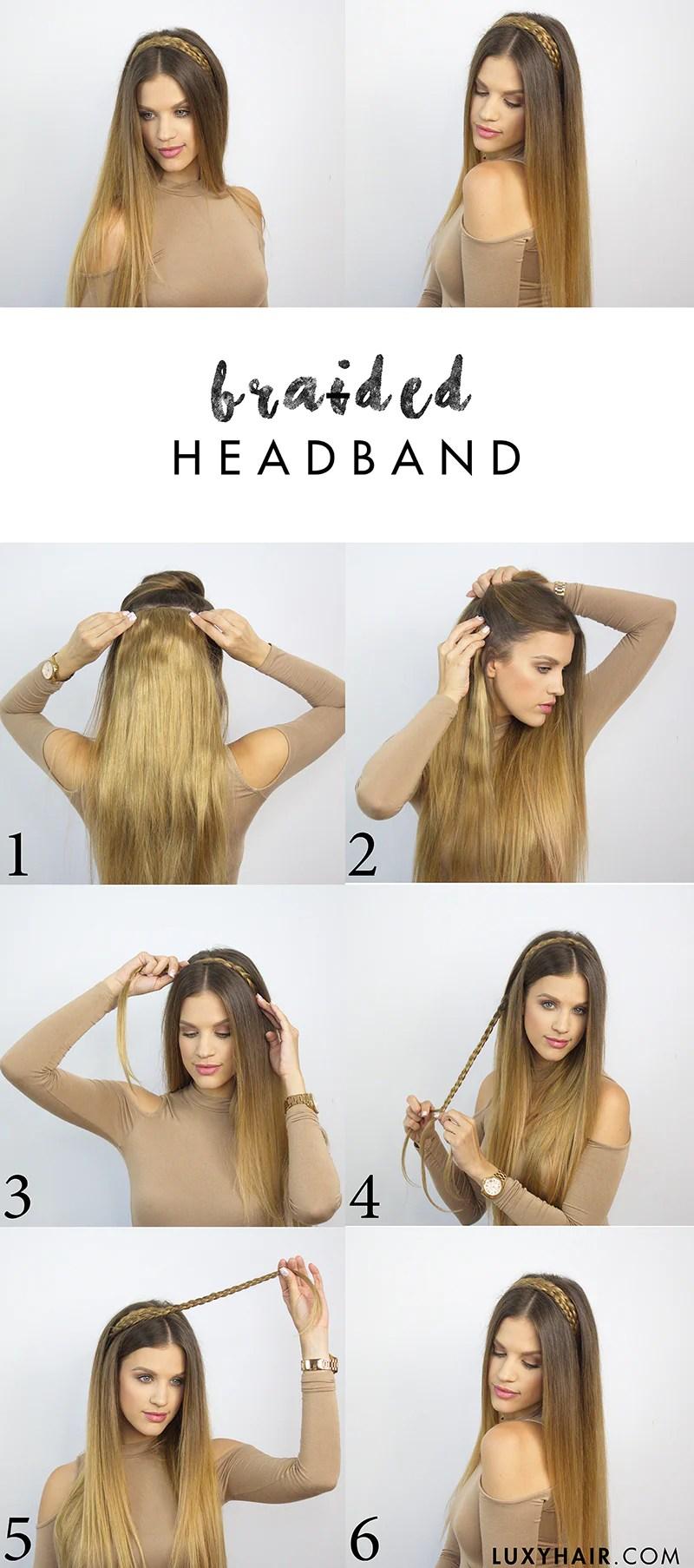 6 heatless school hairstyles