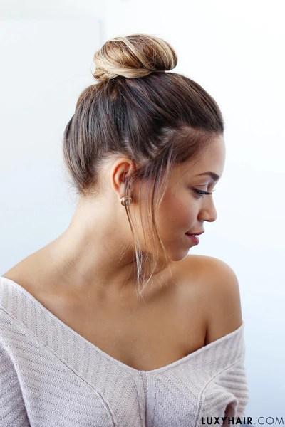 bun hairstyles 9 top knots