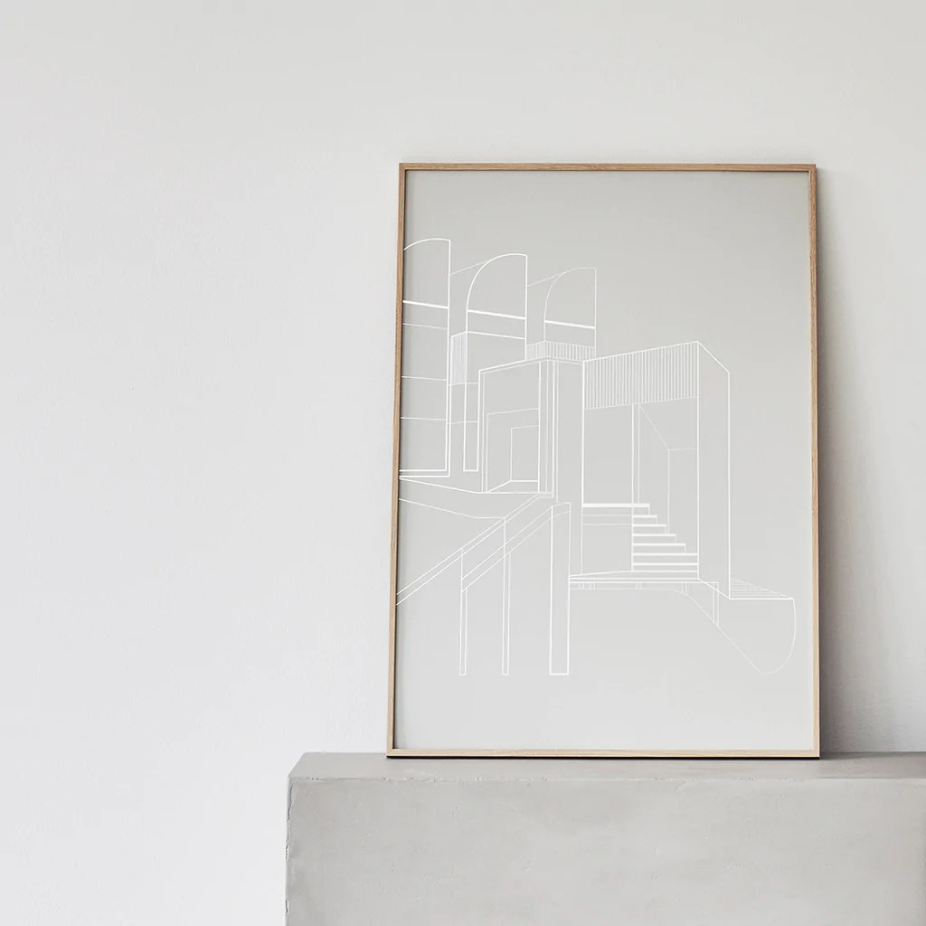 Bauhaus Archive Plakat Kristina Dam Studio Dk