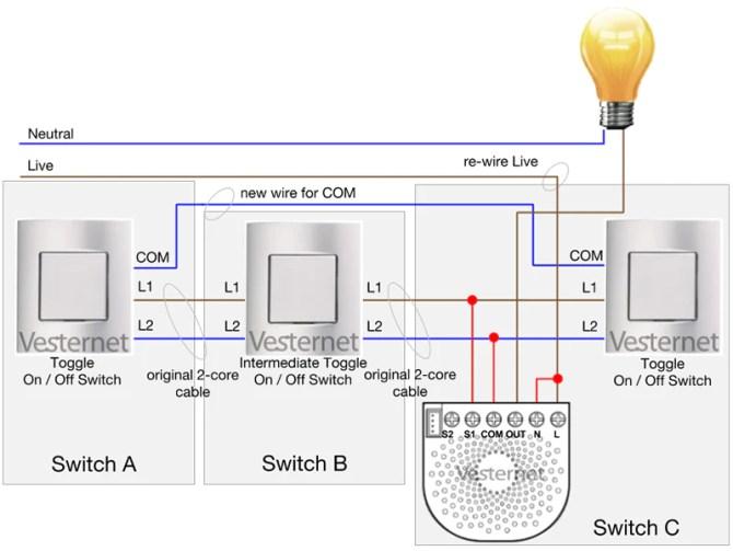 apnt151  alternate 3way lighting circuit with