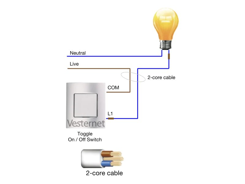 Wiring Diagram For 3 Gang Light Switch