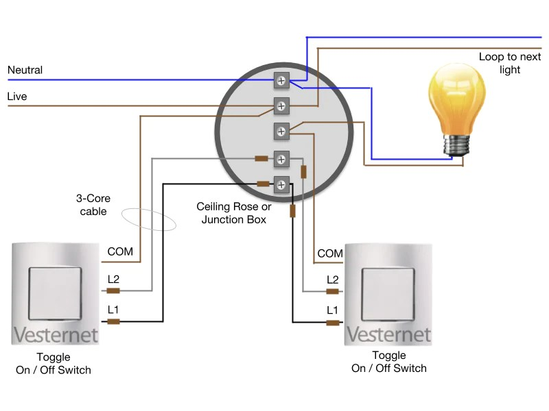 Wiring Diagram For Outside Lights