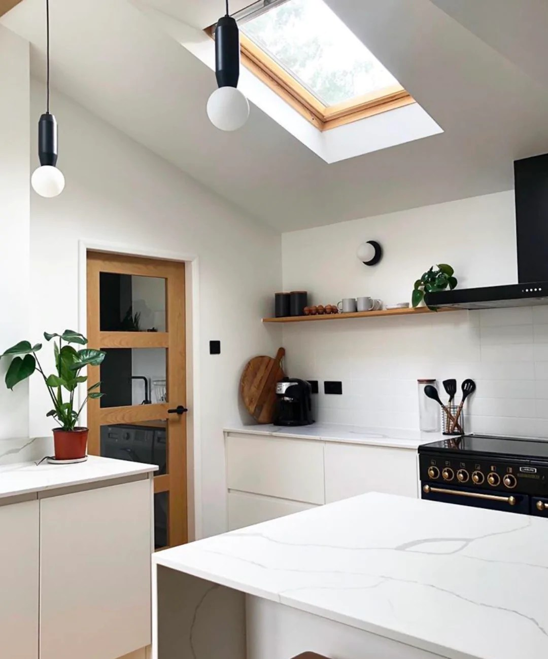sloped ceilings and tight spaces