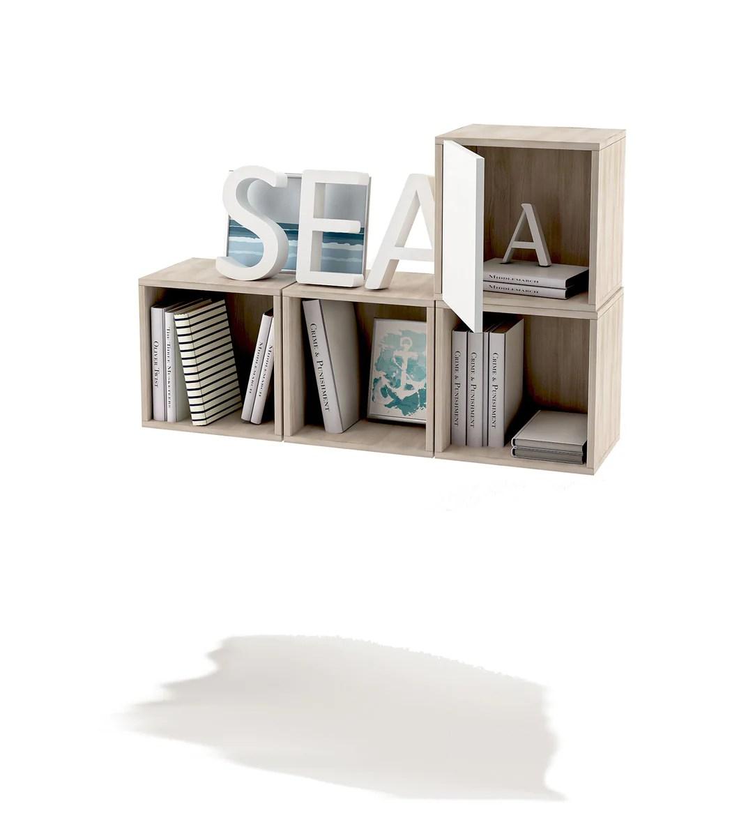 (articolo tratto da eltern.de) in più: Cubi Composizione Librerie A Muro Mensola Cubo Con Anta Cameretta Camera Ufficio Lavanderia Doomostore