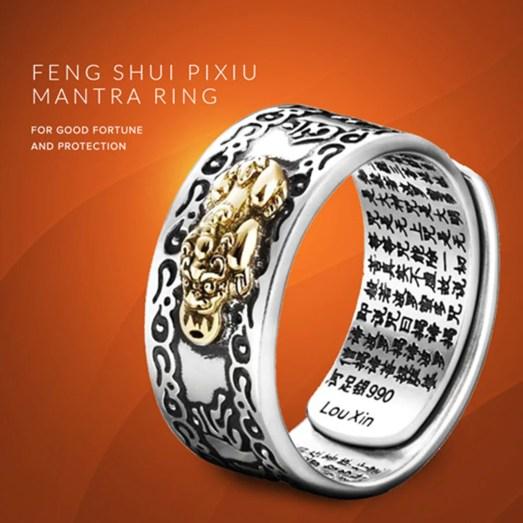 Feng Shui Ring Suey Pixiu Mantra – tucass