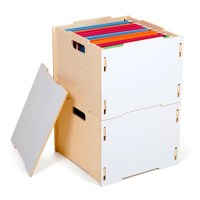 Modern Wood File Cabinet  Sprout