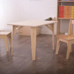 Kids Table With Chairs Desk Chair Heater Modern And Collection Sprout Wooden