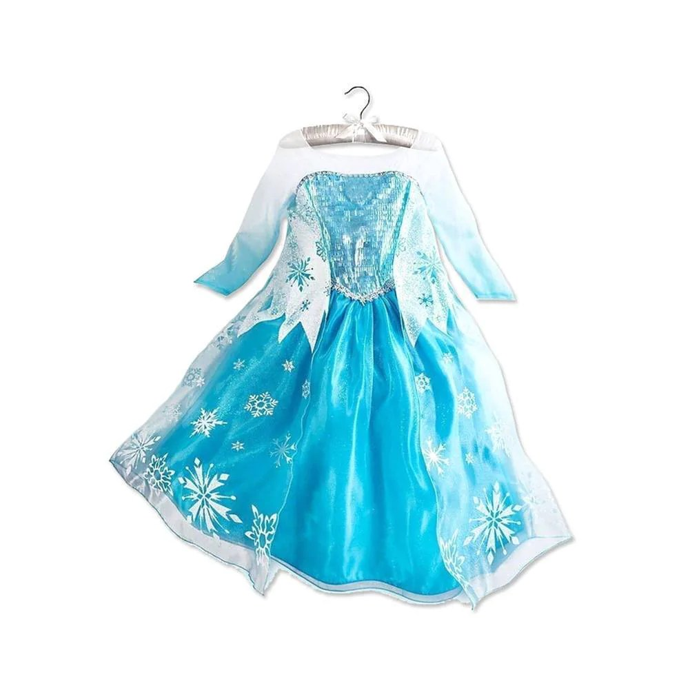 AJ Costumes -DRESS FOR GIRLS-ELSA-FROZEN- CODE 14015 ...